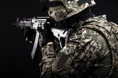 Ρωσικές οπλισμένες δυνάμεις στοκ εικόνα