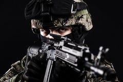 Ρωσικές οπλισμένες δυνάμεις στοκ εικόνες
