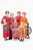 ρωσικές παραδοσιακές γ&upsi Στοκ Εικόνα