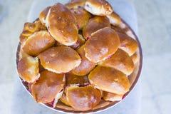 Ρωσικές patty πίτες Στοκ εικόνα με δικαίωμα ελεύθερης χρήσης