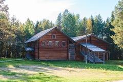 Ρωσική αρχιτεκτονική κτήρια παλαιά Στοκ Εικόνα