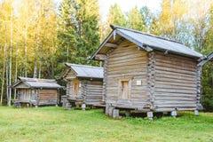 Ρωσική αρχιτεκτονική κτήρια παλαιά Στοκ Φωτογραφία
