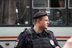 Ρωσική αστυνομία Στοκ Εικόνα