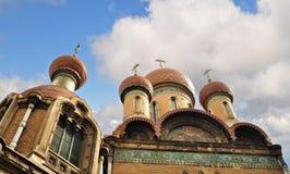 Ρωσική εκκλησία Στοκ φωτογραφία με δικαίωμα ελεύθερης χρήσης
