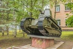 Ρωσική ελαφριά δεξαμενή του παγκόσμιου πολέμου στο βάθρο Στοκ φωτογραφία με δικαίωμα ελεύθερης χρήσης