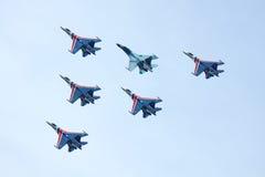 ρωσική κορυφαία όψη ιπποτών Στοκ Εικόνες