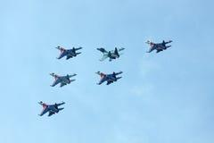 ρωσική κορυφαία όψη ιπποτών Στοκ Εικόνα