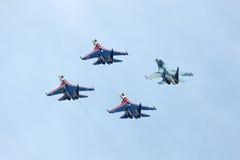 ρωσική κορυφαία όψη ιπποτών Στοκ φωτογραφία με δικαίωμα ελεύθερης χρήσης