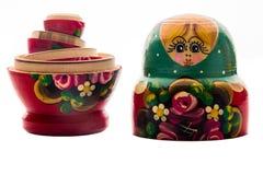 Ρωσική κούκλα Στοκ Εικόνες