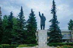 Ρωσική μητέρα πατρίδα - άγαλμα Λένιν στοκ εικόνα