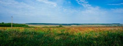Ρωσική μητέρα πατρίδα - αγροτική περιοχή Ural επαρχίας στοκ εικόνες