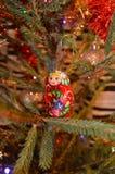 Ρωσική ξύλινη κούκλα Στοκ εικόνες με δικαίωμα ελεύθερης χρήσης