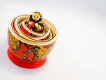 Ρωσική ξύλινη κούκλα Matreshka Στοκ φωτογραφία με δικαίωμα ελεύθερης χρήσης