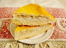 Ρωσική πίτα Στοκ Εικόνα