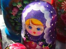 Ρωσική τοποθετημένη κούκλα κούκλα Στοκ Εικόνες