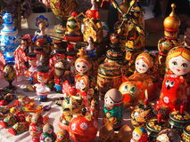 Ρωσική τοποθετημένη κούκλα κούκλα Στοκ φωτογραφία με δικαίωμα ελεύθερης χρήσης