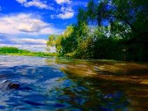Ρωσική φύση όπως την εικόνα Στοκ Εικόνες