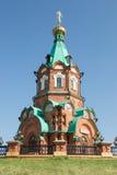 Ρωσική χριστιανική εκκλησία στο krasnoyarsk Στοκ φωτογραφίες με δικαίωμα ελεύθερης χρήσης