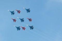 ρωσική όψη κύψελλοων strizhi κα&ta Στοκ φωτογραφίες με δικαίωμα ελεύθερης χρήσης