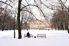 Ρωσικοί μουσείο και κήπος Mikhailovsky στοκ εικόνες