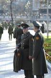 ρωσικοί στρατιώτες δύο Στοκ Εικόνα