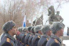 Ρωσικοί στρατιώτες Στοκ εικόνες με δικαίωμα ελεύθερης χρήσης