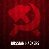 Ρωσικοί χάκερ αφηρημένη μήτρα ανασκόπησης Στοκ φωτογραφίες με δικαίωμα ελεύθερης χρήσης