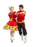 Ρωσικός λαϊκός χορός στοκ φωτογραφίες
