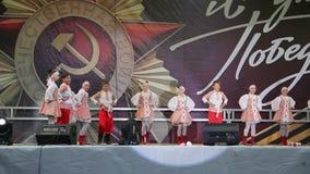 Ρωσικός λαϊκός χορός απόθεμα βίντεο