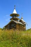 ρωσικός παραδοσιακός του χωριού ανεμόμυλος της βόρειας Ρωσίας kizhi οικοδόμησης του 1928 Στοκ φωτογραφία με δικαίωμα ελεύθερης χρήσης