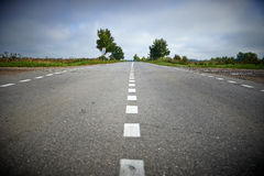 Ρωσικός δρόμος Στοκ εικόνα με δικαίωμα ελεύθερης χρήσης