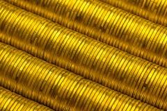 Ρωσικός σωρός ρουβλιών του χρυσού υποβάθρου νομισμάτων μετάλλων Στοκ εικόνες με δικαίωμα ελεύθερης χρήσης