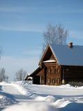 ρωσικός χειμώνας Στοκ φωτογραφία με δικαίωμα ελεύθερης χρήσης