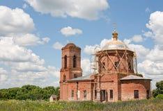 Ρωσικός χριστιανικός καθεδρικός ναός Στοκ Εικόνα