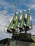 Ρωσικός SA17-σταχτύς Στοκ Φωτογραφίες