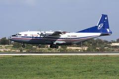 Ρωσικός turboprop μεταφορέας φορτίου Στοκ φωτογραφίες με δικαίωμα ελεύθερης χρήσης