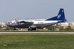 Ρωσικός turboprop μεταφορέας φορτίου Στοκ Εικόνες