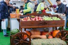 Ρωσικό αγροβιομηχανικό χρυσό φθινόπωρο έκθεσης Στοκ Φωτογραφία