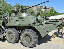 Ρωσικό αμφίβιο θωρακισμένο στρατιωτικό όχημα Στοκ Φωτογραφία