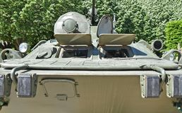 Ρωσικό αμφίβιο θωρακισμένο στρατιωτικό όχημα Στοκ εικόνες με δικαίωμα ελεύθερης χρήσης