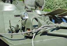 Ρωσικό αμφίβιο θωρακισμένο στρατιωτικό όχημα Στοκ εικόνα με δικαίωμα ελεύθερης χρήσης