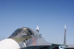 Ρωσικό βομβαρδιστικό αεροπλάνο στη Συρία Στοκ εικόνες με δικαίωμα ελεύθερης χρήσης