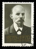 Ρωσικό γραμματόσημο του Βλαντιμίρ Λένιν Στοκ Εικόνες