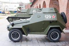 Ρωσικό θωρακισμένο αυτοκίνητο Στοκ Φωτογραφίες