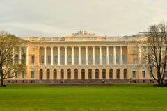 Ρωσικό μουσείο σε StPeterssburg στοκ φωτογραφία