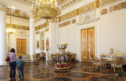Ρωσικό μουσείο στη Αγία Πετρούπολη Στοκ Φωτογραφία
