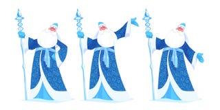 Ρωσικό παγετός ή Ded Moroz πατέρων ελεύθερη απεικόνιση δικαιώματος