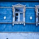 Ρωσικό παράθυρο στοκ φωτογραφία με δικαίωμα ελεύθερης χρήσης