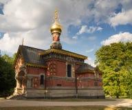 Ρωσικό παρεκκλησι το καλοκαίρι, κακό Homburg Στοκ φωτογραφία με δικαίωμα ελεύθερης χρήσης
