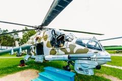 Ρωσικό σοβιετικό για πολλές χρήσεις ελικόπτερο μεταφορών Στοκ Εικόνα